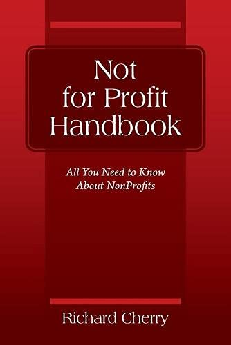 Not for Profit Handbook: All You Need to Know About Nonprofits