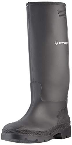 Dunlop C762933 S5 Purofort+ Botas de lluvia unisex para adultos, 45 EUR, Negro , 1