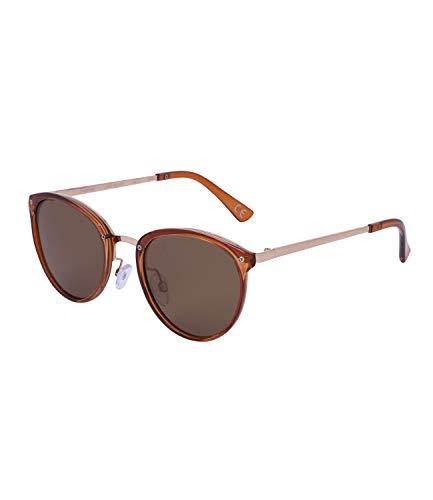 TOSH Gafas de sol para mujer con diseño de aviador y efecto brillante, categoría 3, filtro UV400 (1002000)