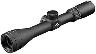 AIM Sports Inc 3-12X32 1 in. Scout Scope w/AO & Mil-Dot Reticle, Black, J3HD31232M