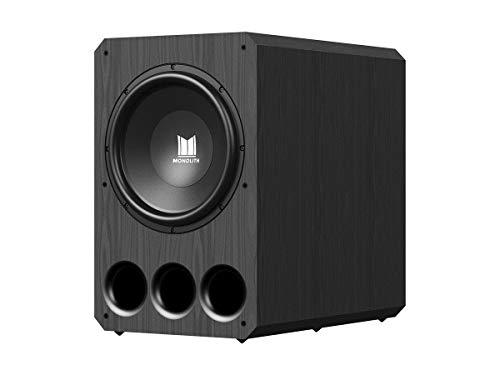 Monolith Powered Subwoofer - 15 Inch with 1,000 Watt Amplifier
