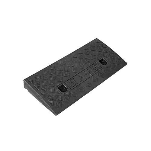 CJXing-Slope pad Kunststoff Rampen, Farb Tragbarer Schritt Mat Klassenzimmer Tür Schwelle Rampen Kellertreppe Curb Ramps 7-13.5CM (Color : Black, Size : 49 * 27 * 11CM)