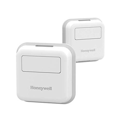 Honeywell Home RCHTSENSOR-2PK/E RCHTSENSOR Smart Room Sensor, White (Renewed)