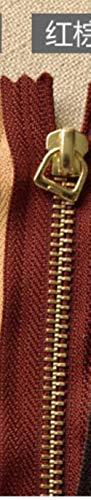 Handgemachte Leder Handtasche Handtasche Tasche Zubehör 20~30cm 5# Gold Kupfer