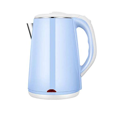 Electric Kettles LIANG, 2.2 L Double Wall & Low Noise with 100% Stainless Steel Inner Pot and Lid. 1500W Fast Boil. Cordless with Auto Shut-Off & Boil Dry Protection.