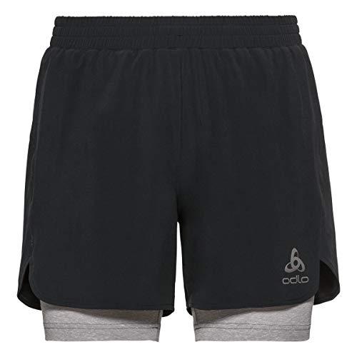 Odlo Short Millennium Linencool Pro 2-In-1 Shorts - Noir