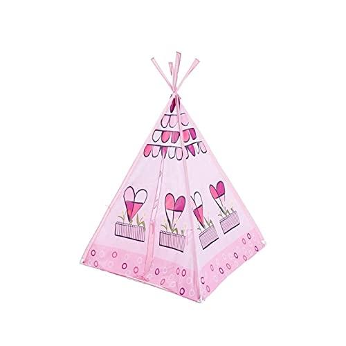 UNU_YAN Simplicidad Moderna Pink Indian Niños Tienda de niños Baby Play Play Ball Ball Juguete Piscina Teepee Decoración de la Sala de la Tienda con Bolsos de Transporte para niñas/niños niños