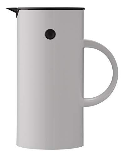 Stelton EM 77 Isolierkanne, Plastik, Grau, 11.5 x 11.5 x 21 cm