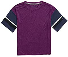 Camiseta Champion para Mujer Gym Issue Football tee - W3238
