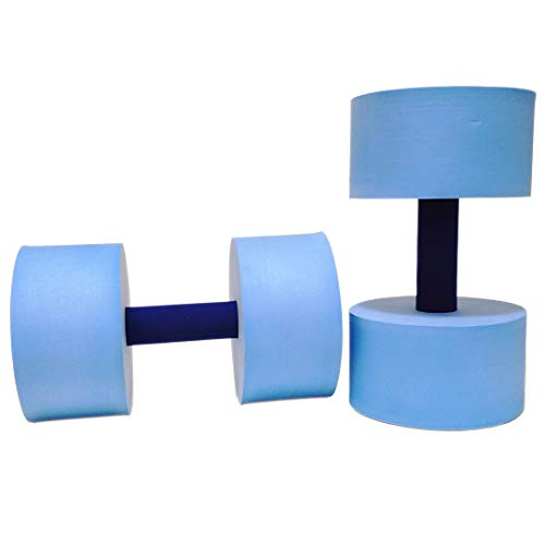 Best Bargain Sunlite Sports High-Density EVA-Foam Dumbbell Set - Soft Padded - Water Aerobics, Aqua ...