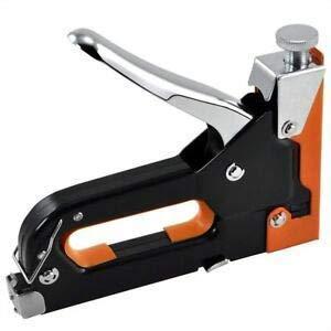 Toriox Nail Stapler Multifunction 3 In1 Manual Stapler Tool Nail Stapler Machine for Wood Work Mini Staple Nail Gun Stapler Machine Kit Furniture Woodworking Stapler Tools