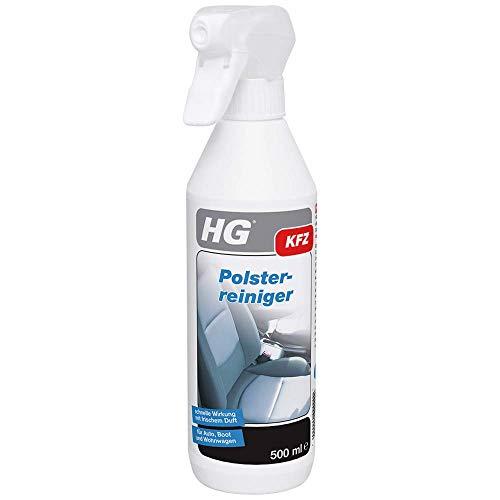 HG 159050105 Polsterreiniger 500 ml – Entfernt Flecken und reinigt Polster im Auto, Boot und Wohnwagen