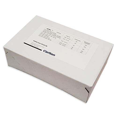 3 Stück Carlton Sägekette N4C-BL-45 Halbmeißel 3/8
