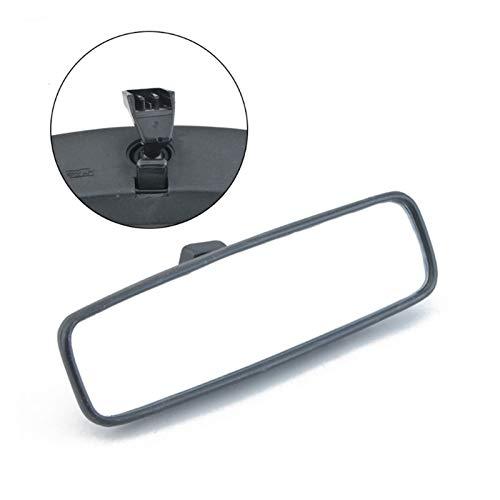 BENGKUI WUWENJIE 1 PZ Auto Interni Vista Posteriore Specchio Adatta per Peugeot 107 206 106 Aygo Citroen C1 Sostituzione 814842