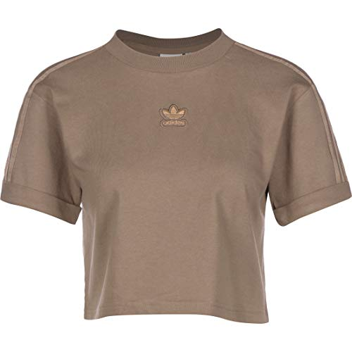 adidas Cropped Crop Top Trace Brown