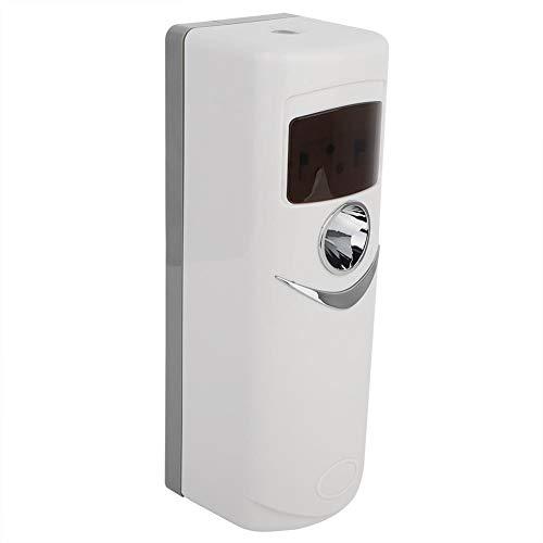 Dispensador eléctrico de ambientador, bomba automática sin spray LCD Dispensador de aroma de aire de la máquina dispensador de aerosol Dispensador de aerosol de perfume de escritorio para estudio, tra