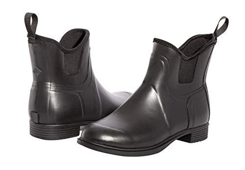 Muck Boots Damen Derby Reitstiefel, Black, 38.5 EU