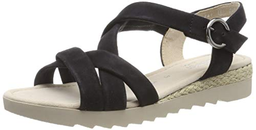 Gabor Shoes Damen Comfort Sport Riemchensandalen, Blau (Pazifik (Jute) 26), 39 EU