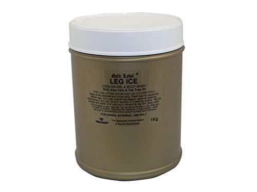 Leg Ice, Gold Label, Cooling Gel For Horses, 1kg