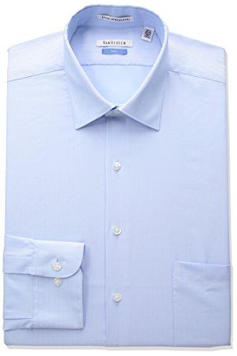 Van Heusen – Camisas de Vestir para Hombre (Tallas Grandes y Altas), Nube Azul, 19″ Neck 37″-38″ Sleeve…