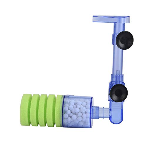 Filtro de Acuario Bomba de Aire Esponja Bioquímica Bomba de oxígeno Filtro de Agua para Acuario Esponja Filtro de Tanque de Peces Medios para Mini Tanque de Peces Suministros(XY-2880)