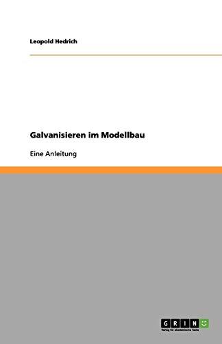 Galvanisieren im Modellbau: Eine Anleitung