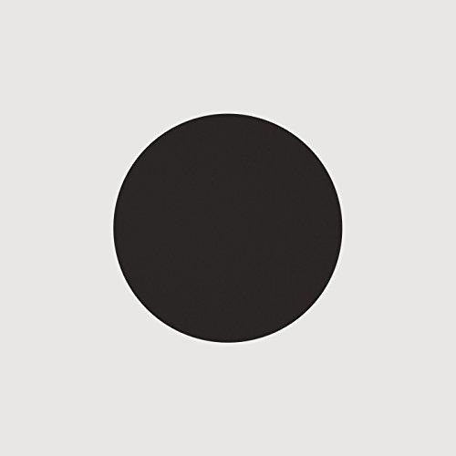 daff Filz Untersetzer Rund aus Merino-Wolle Ø 15 cm Coal Black
