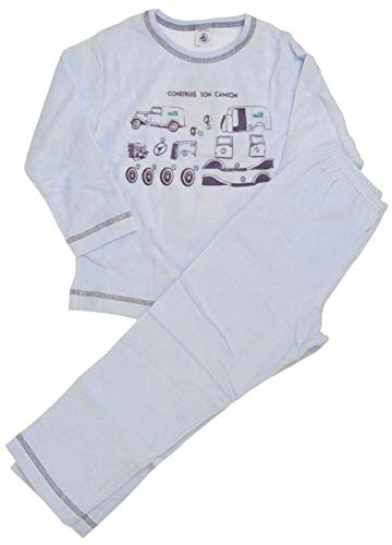 Petit Bateau Schlafanzug mit Fahrzeug Motiv (108)