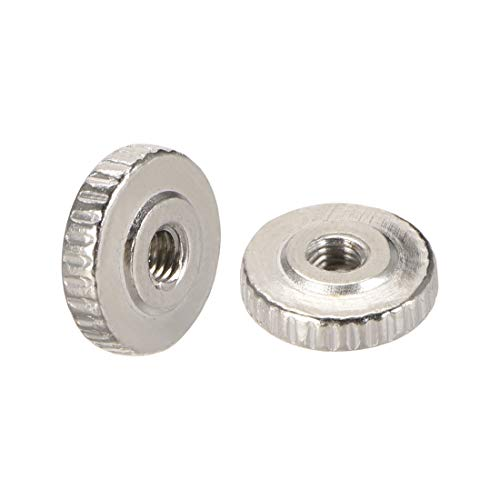10x New M3 Knurled Thumb Nut for Adjust Leveling 3D Printer Heated Bed Metal