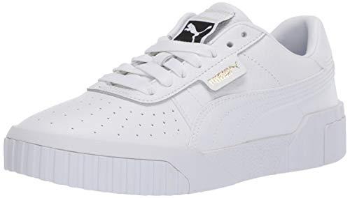 PUMA Women's CALI Sneaker, White, 5.5 M US