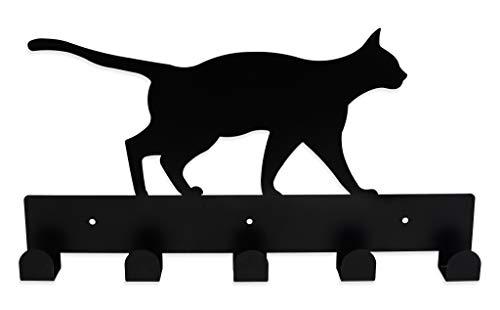 Colgador de Pared con Forma de Gato para Ropa, complementos y Toallas