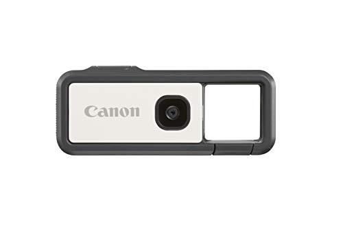 Canon IVY REC Digitalkamera Outdoor Activity Kamera (Video Full HD, 60 B/s, 13 MP, F2.2 Blende, Bluetooth, WLAN, via Canon Mini App mit Mobilgerät verbinden, leicht, wasserdicht, stoßfest), grau