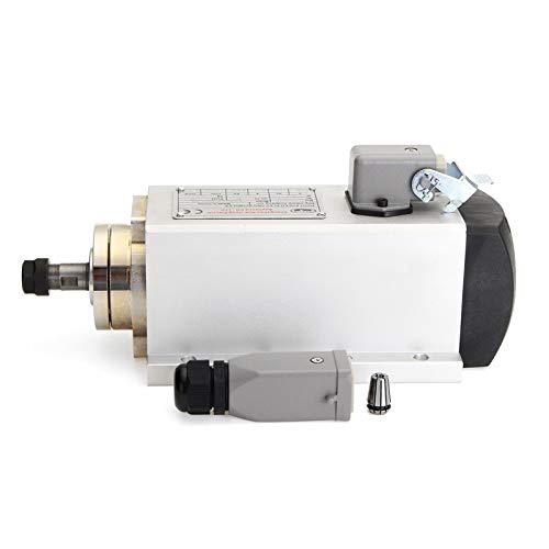 HLPEA Motor stepper Spindle Motor, 220v 1.5kw Air-cooled Cnc Spindle Spindle Motor Industrial power tools (Color : Silver)