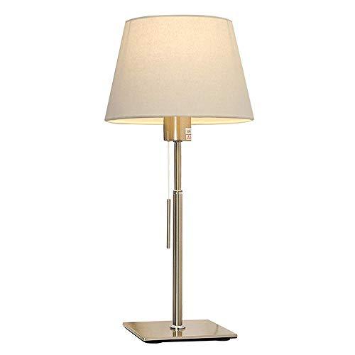 Nordic plastique Lampe de chevet nette Enfant Lampes de table salon broderie Lampes de table (Blanc)