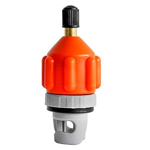 Heytur Aufblasbares Boot SUP Pumpe Adapter Standard Schrader Konventionelle Luftpumpe Luftventil Adapter Speichenplatte Befestigung