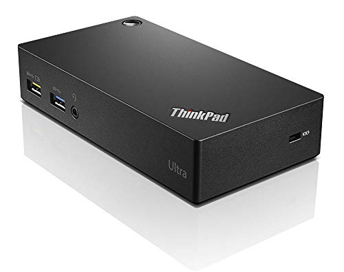 Lenovo 40A80045UK ThinkPad USB 3.0 Ultra Dock, Black