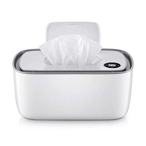 Adesign Limpie más cálido y el Titular del bebé toallitas húmedas dispensador, Baby Wipes Calentador, del hogar portátil Toallitas Calefacción Caja de Aislamiento de contenedores