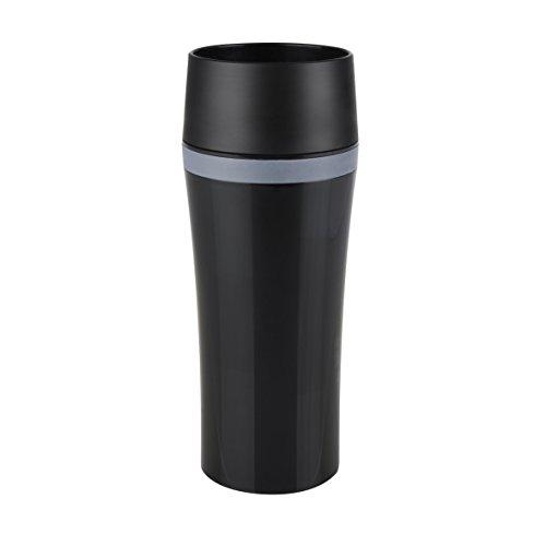 Tefal Travel Mug Fun, schwarz/grau, 8.1x 8.1x 20,1cm