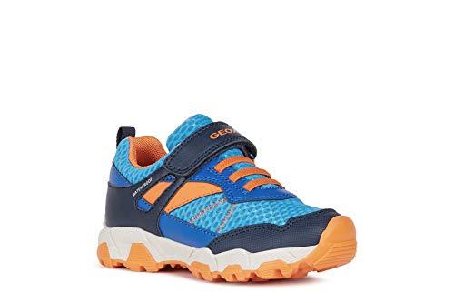 Geox MAGNETAR Boy WPF - Zapatillas de deporte para niño (plantilla suelta, impermeables), color Azul, talla 29 EU