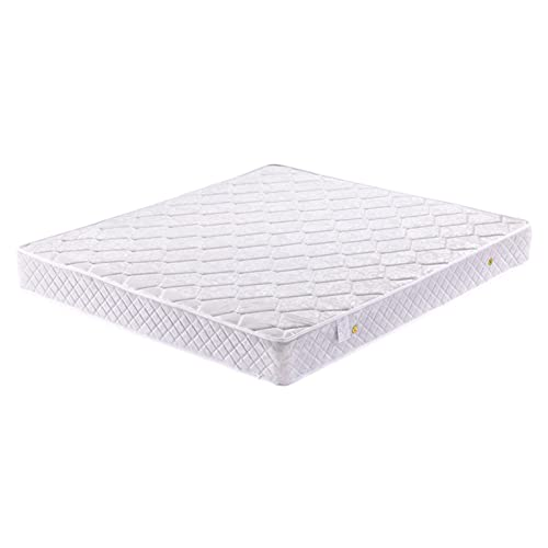 CNAJOI-TDFY Colchón tamaño Queen de látex Natural, Cama de colchón de Espuma viscoelástica en una Caja, Bobina de Bolsillo encajada Individualmente, Firme, de Apoyo, enfriamiento Natural