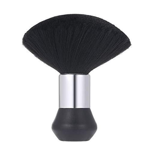 Halsbürste Anself Friseur Nackenpinsel Bürste Salon Haarschneide Friseur Zubehör Haarpinsel mit Plastik Griff