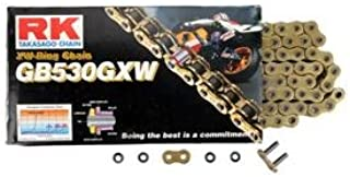RK 530 GXW XW-Ring Chain - 530 x 130 Links/Gold