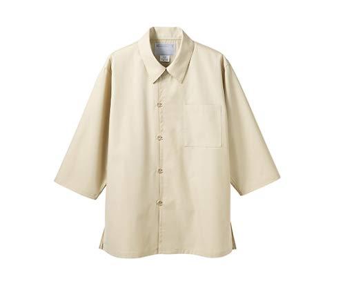 住商モンブラン MONTBLANC(モンブラン) 調理シャツ 兼用 7分袖 ベージュ S 2-223
