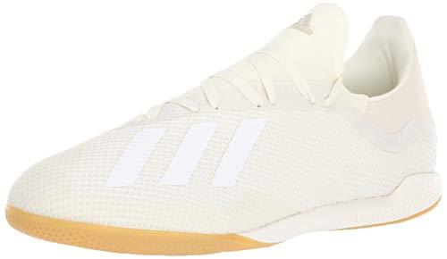 adidas Men's X Tango 18.3 Indoor Soccer Shoe White Size: 11 UK