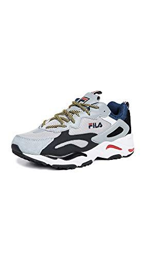 Fila Men's Ray Tracer Sneakers Blue/Hi Rise Grey/Black 11.5