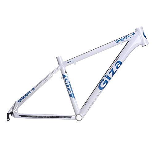 lundeng Giza Ghost 3 Mountain Bike All Aluminum Alloy Ultra Light Frame (White Blue, 23.6')