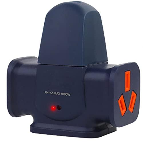 Adaptador de enchufe de pared Enchufe de alta potencia Extensión de extensión 16A tira de alimentación con 4 puntos de venta de estilo2, Otras herramientas manuales