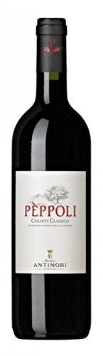 Antinori - Tenuta di Pèppoli Chianti Classico DOCG - halbe Flasche, 6er Pack (6 x 375 ml)