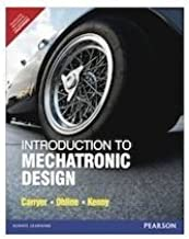 Introduction to Mechatronic Design By Edward Carryer (International Economy Edition) by Edward Carryer (2010-11-07)