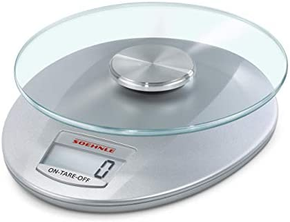 Soehnle Roma Silver Digital Kitchen Scales Scales Food Preparation Scales 65856 product image